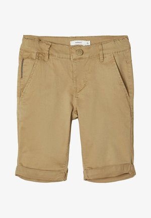 NAME IT CHINOSHORTS SLIM FIT - Shorts - kelp