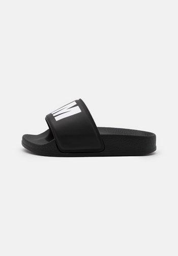 UNISEX - Mules - black