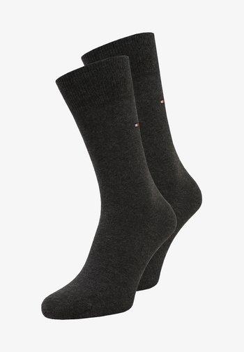 MEN SOCK CLASSIC 2 PACK - Socks - anthracite melange
