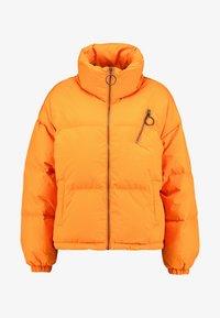 Benetton - OVERSIZED SPORTY SHORT DOWN JACKET - Down jacket - orange - 3