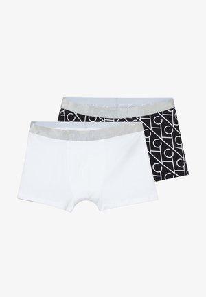 TRUNKS 2 PACK - Panties - black