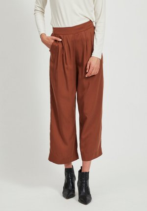 Pantalones - tobacco brown