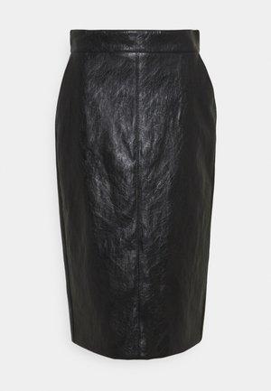 BARBIAN - Pencil skirt - nero