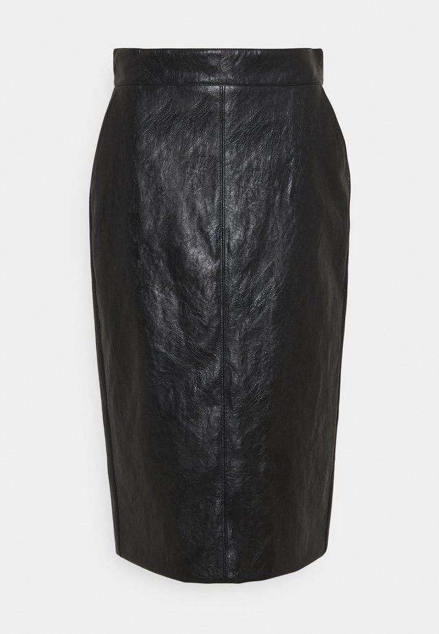 BARBIAN - Pouzdrová sukně - nero