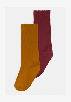 DITITALIS 2 PACK - Socks - bordeaux