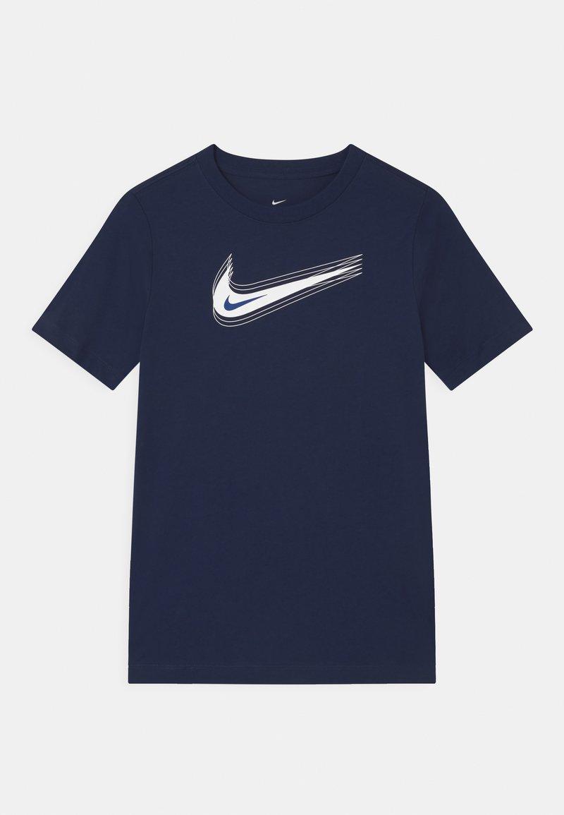 Nike Sportswear - UNISEX - Triko spotiskem - midnight navy/white