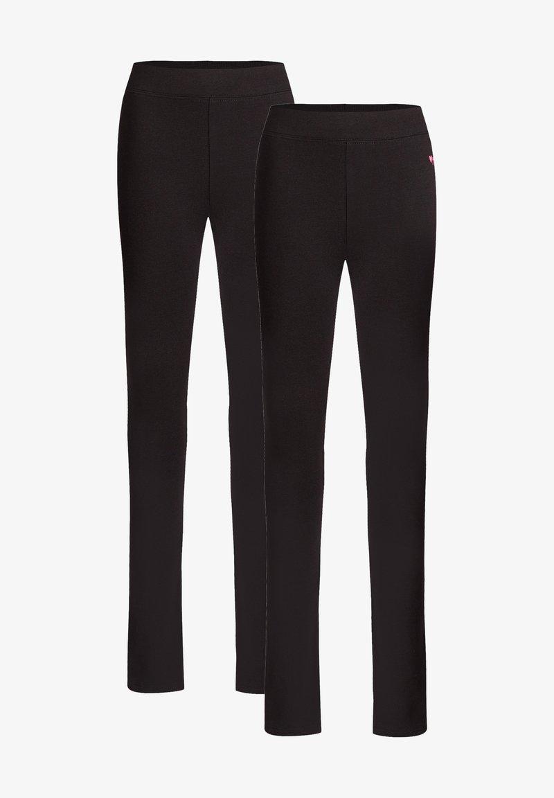 WE Fashion - 2 PACK - Leggings - black