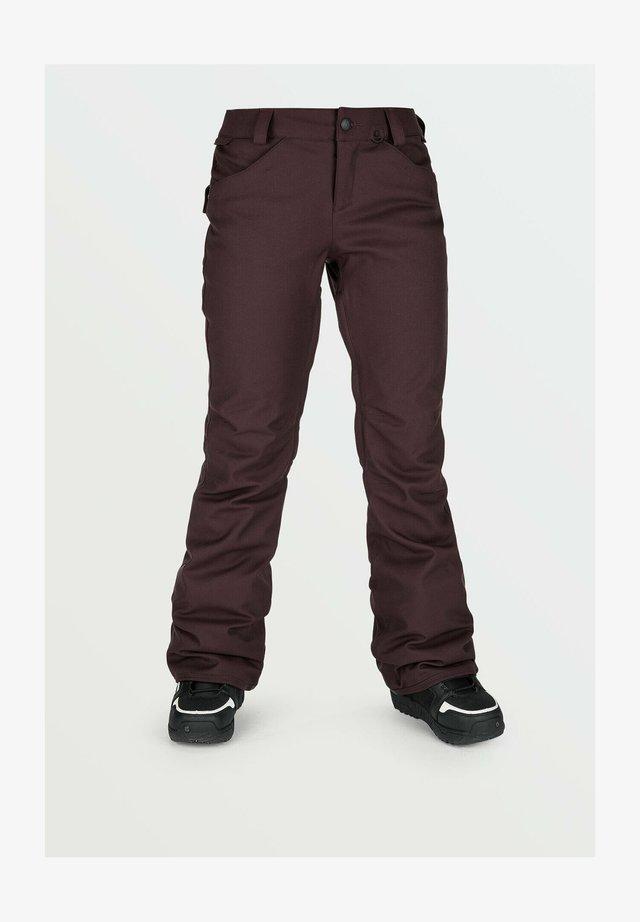 GRAIL 3D STRETCH PANT - Pantaloni da neve - red