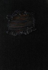 Bershka - Džíny Relaxed Fit - black - 4