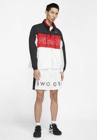 Nike Sportswear - NSW NIKE AIR  - Outdoor jacket - black/university red/white - 1