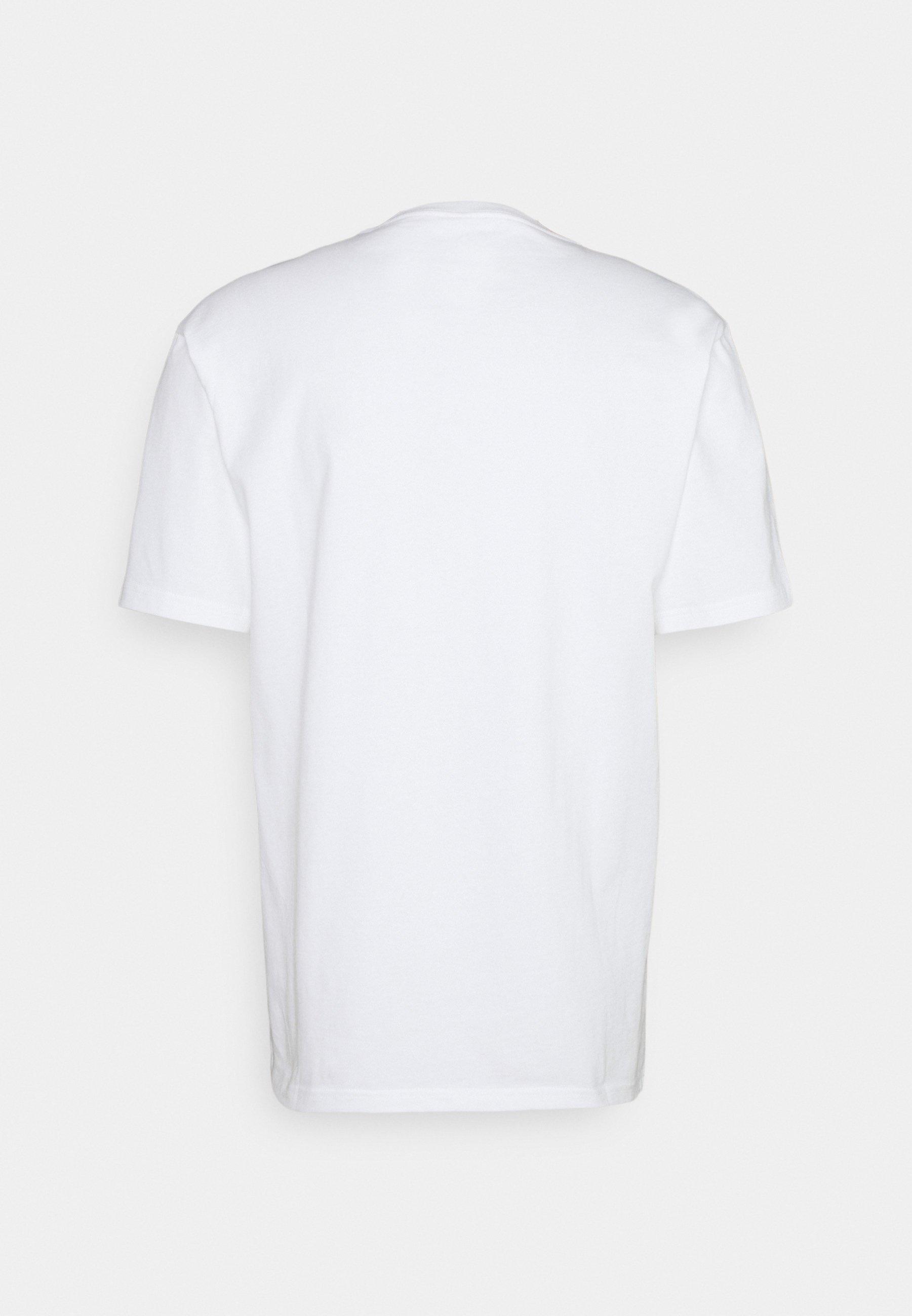 Men WARPED COURT SHORT SLEEVE TEE - Print T-shirt