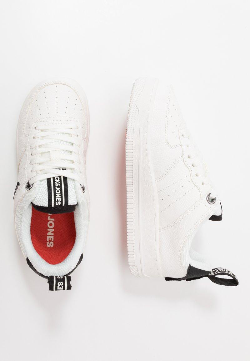 Jack & Jones Junior - JRMAVERICK  - Sneakersy niskie - white