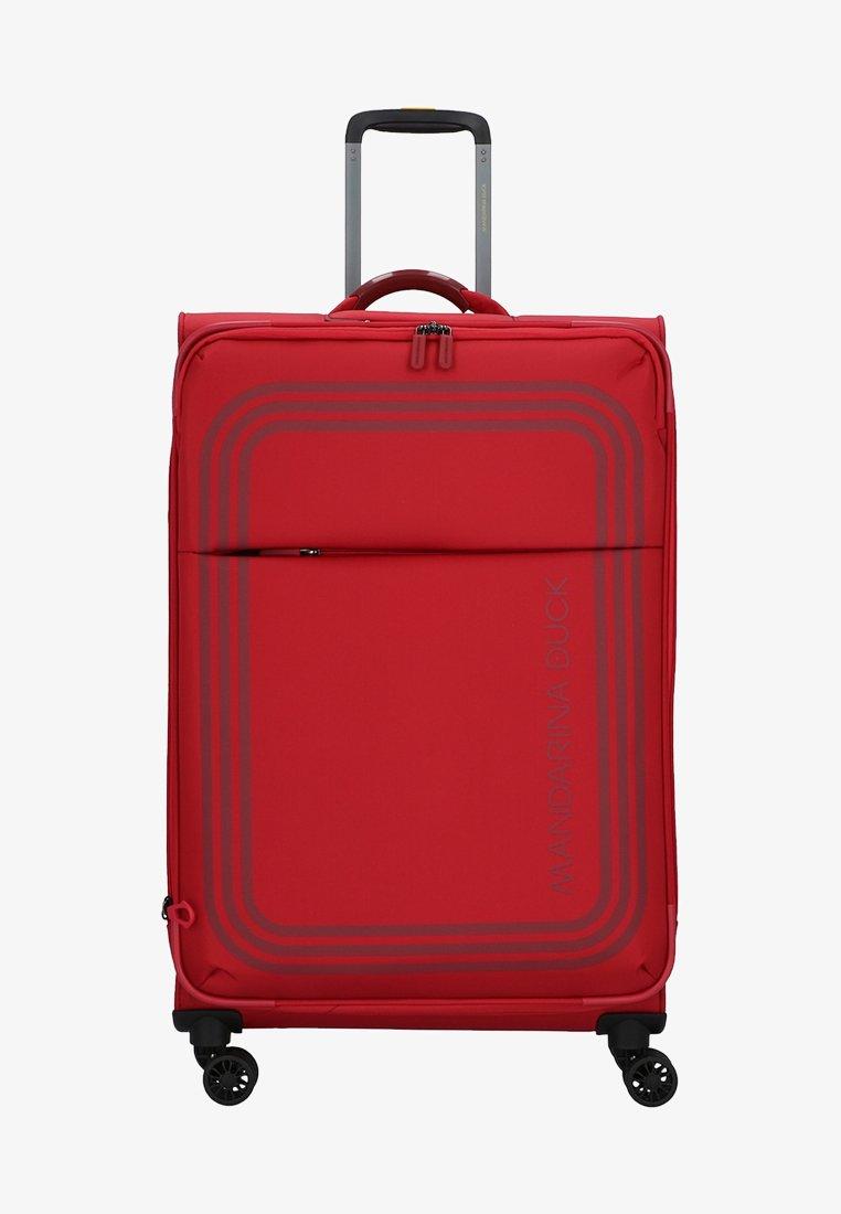 Mandarina Duck - BILBAO - Wheeled suitcase - red