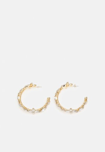 PCMAGGILNA EARRINGS - Earrings - gold-coloured/clear
