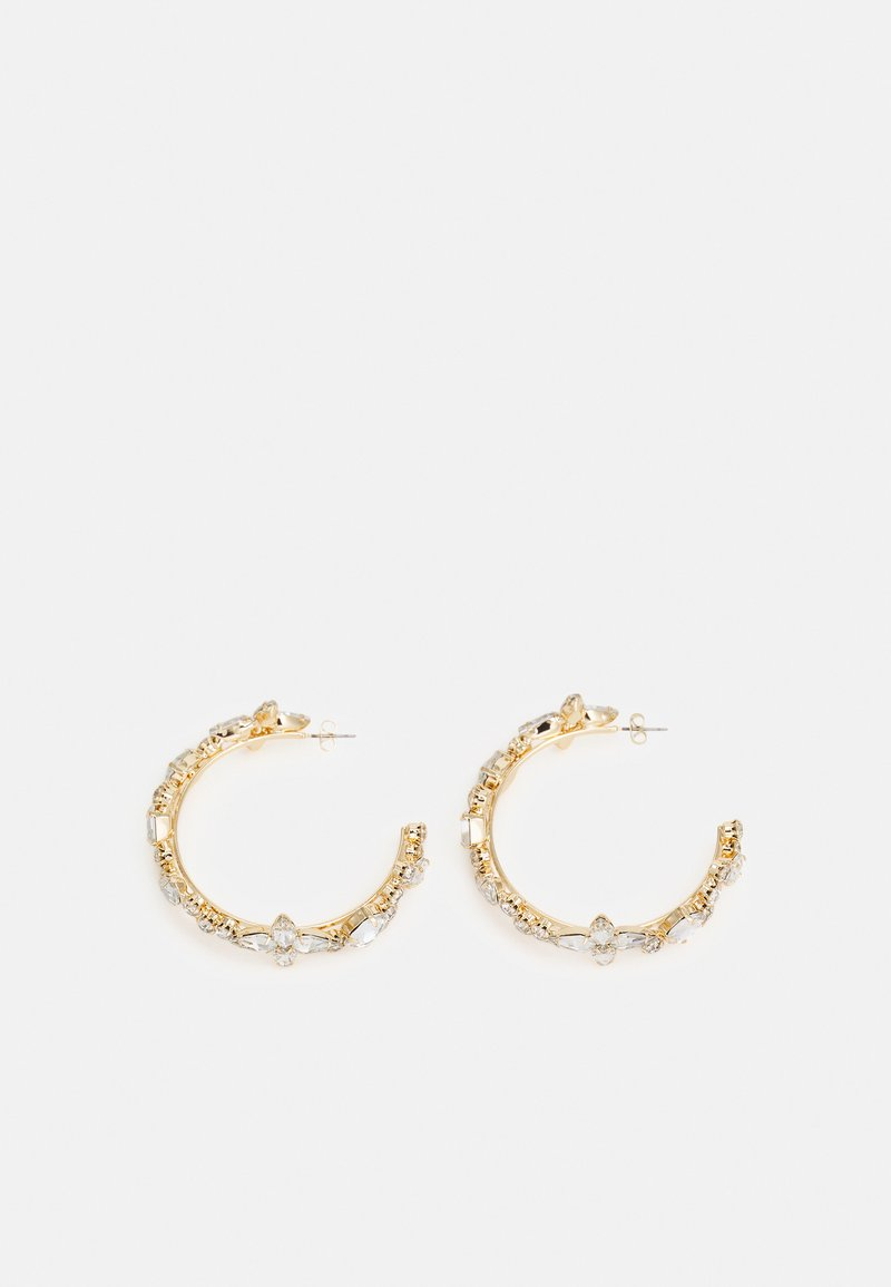 Pieces - PCMAGGILNA EARRINGS - Earrings - gold-coloured/clear