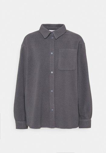 BESS - Fleecová bunda - greyish