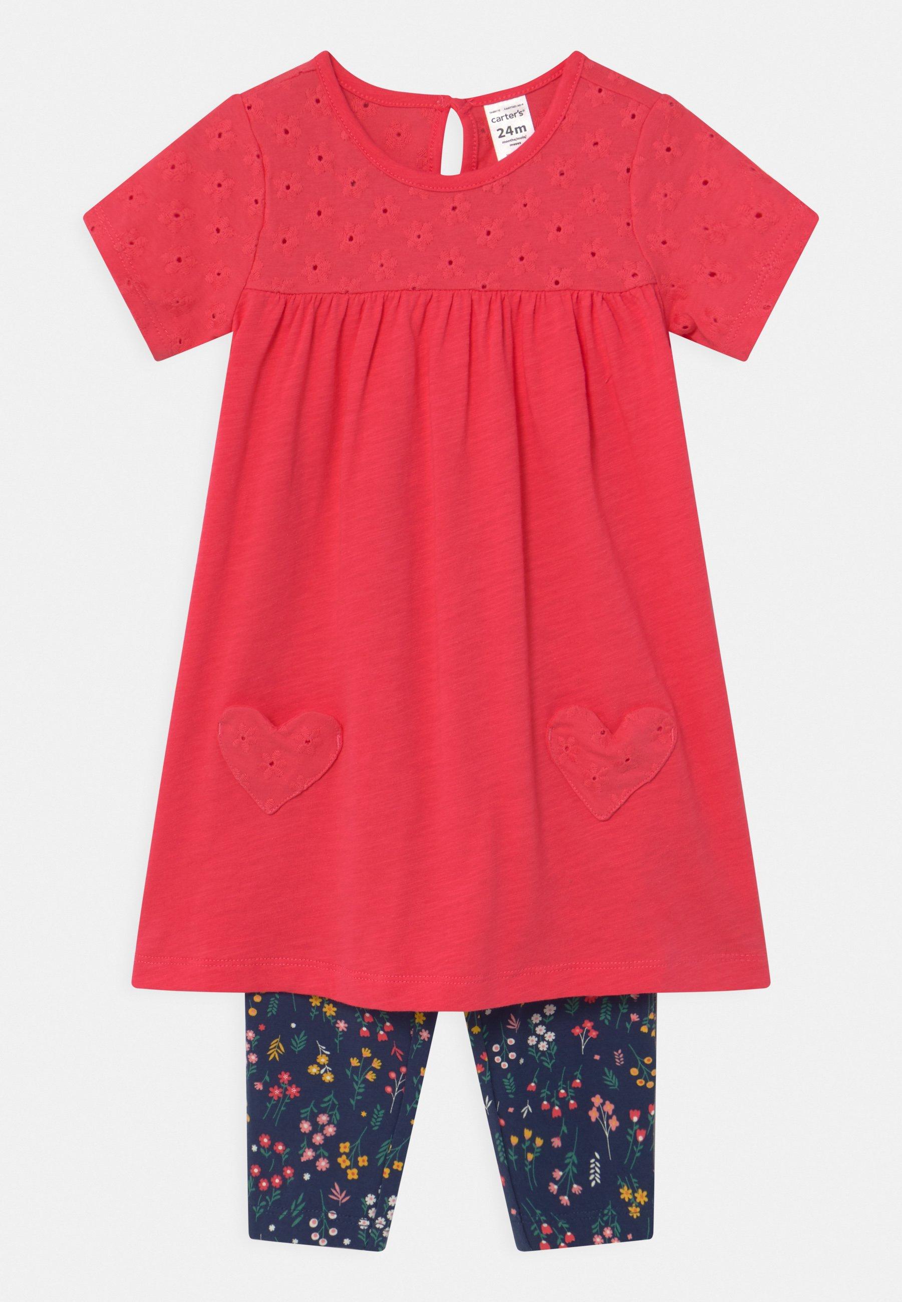 Kids HEART SET - Leggings - Trousers