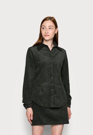 LADIES - Button-down blouse - dark green