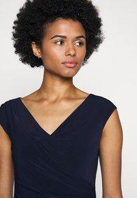 Lauren Ralph Lauren - MID WEIGHT DRESS - Shift dress - lighthouse navy - 3