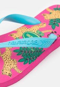 Havaianas - FASHION PINK FLUX - Pool shoes - pink flux - 5
