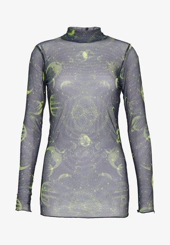 MOON  - Long sleeved top - black