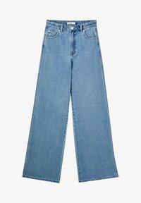 PULL&BEAR - Jeans a zampa - light blue - 6