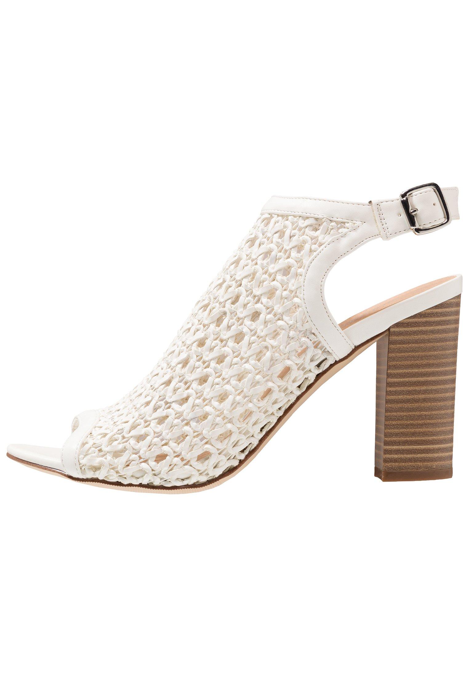 Madden Girl BENSIE - Sandaler med høye hæler - white paris