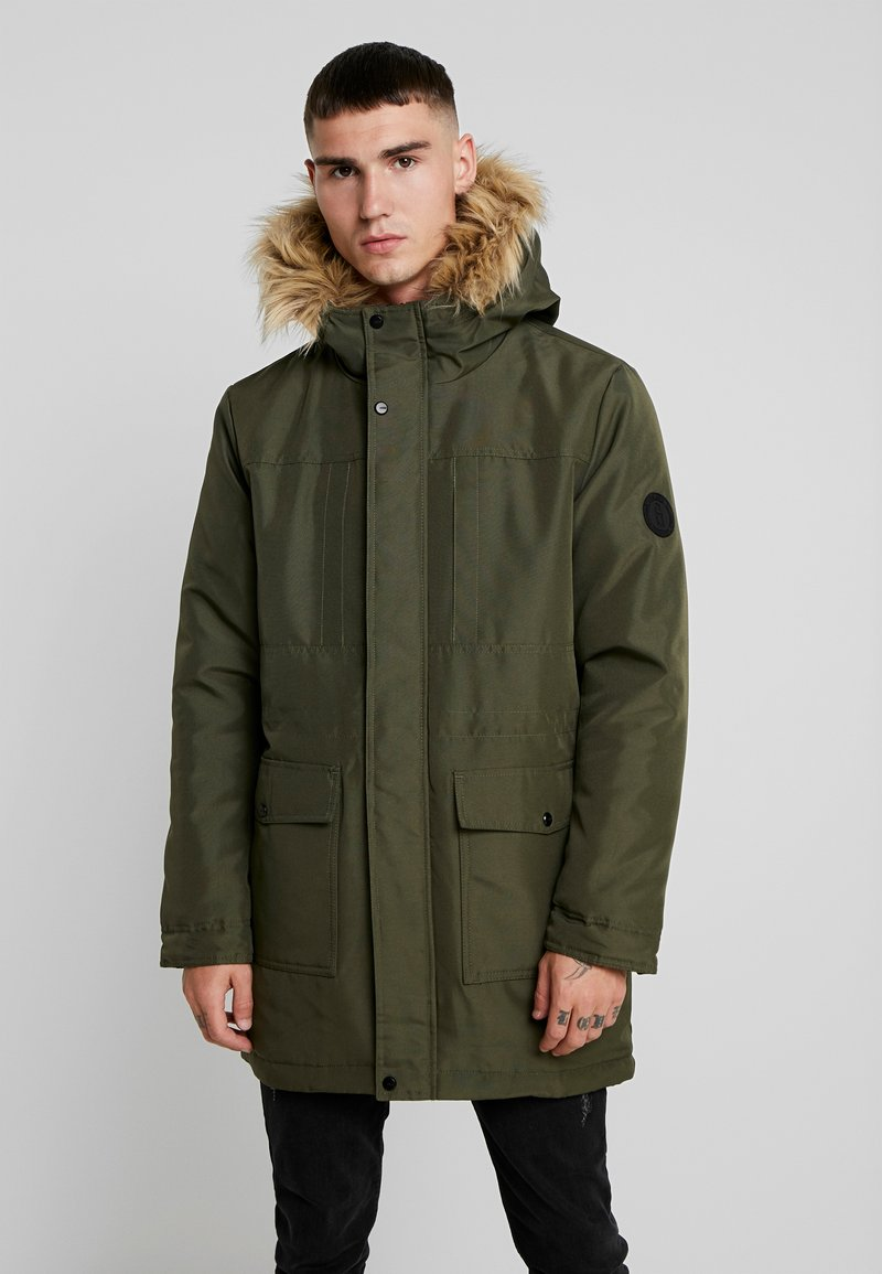 Only & Sons - ONSBASIL JACKET NOOS - Winter coat - forest night