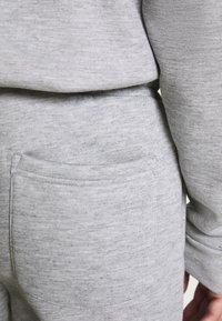 Brave Soul - TYRELLC - Pantalon de survêtement - grey marl/ jet black - 3