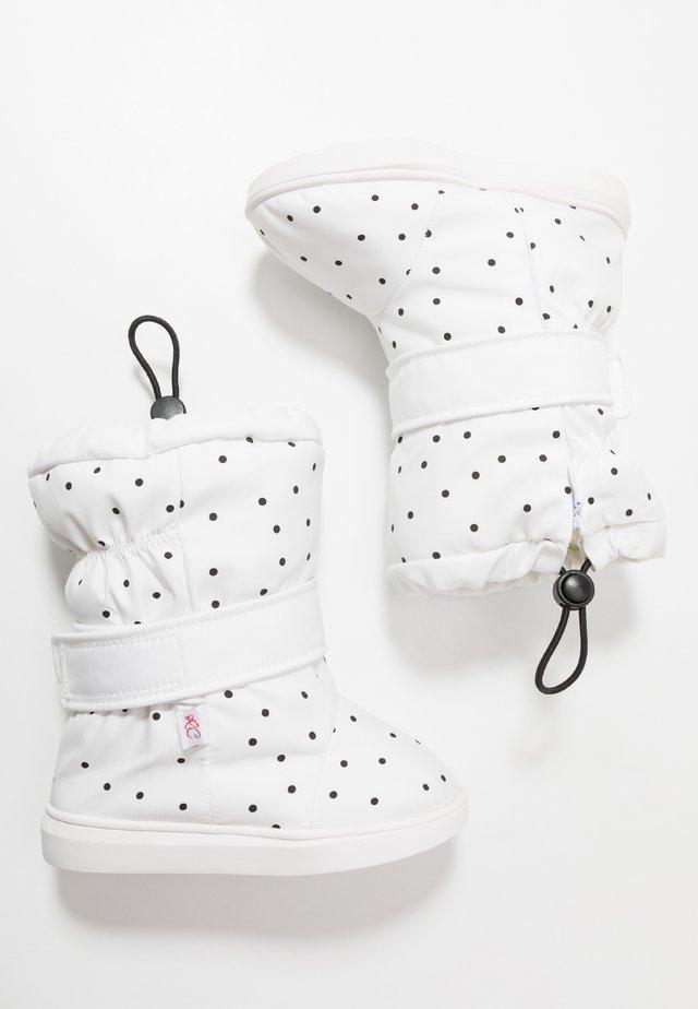 POLKA - Stivali alti - white