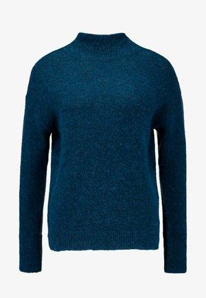 KAITLYN - Strikpullover /Striktrøjer - ocean blue