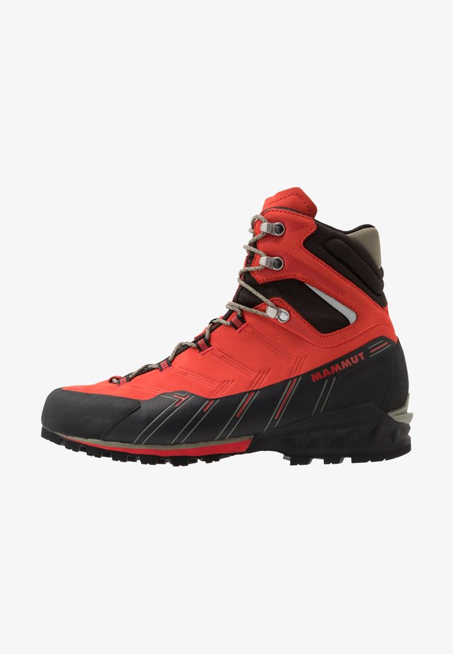 KENTO GUIDE HIGH  - Mountain shoes - spicy/black