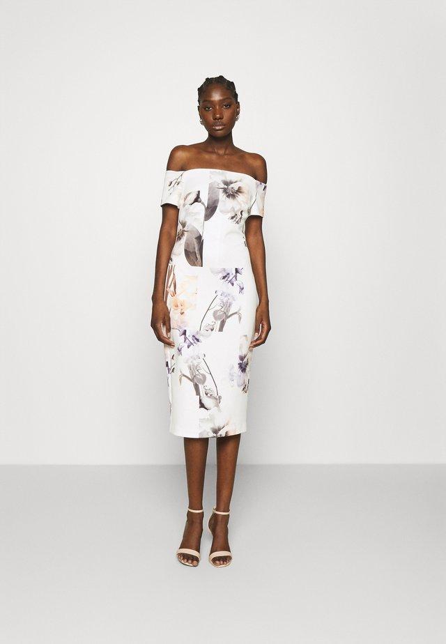 SAIDIE - Shift dress - white