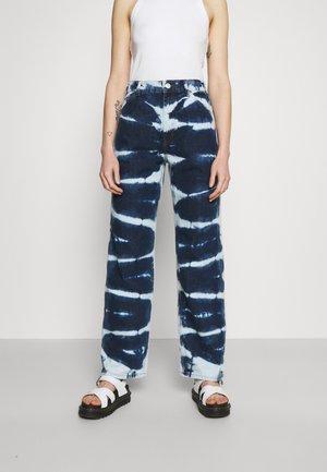 JUNO - Straight leg jeans - indigo