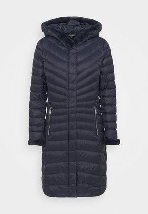 SOFT COAT - Down coat - navy