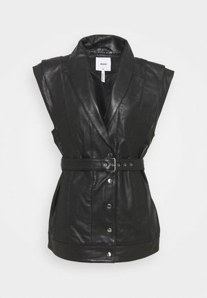 OBJMIMI  WAISTCOAT - Vest - black
