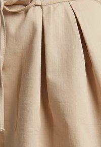 Bershka - MIT SCHNÜRUNG - Sukienka koszulowa - beige - 4