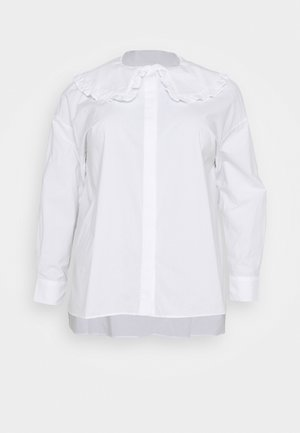 OVERSIZE COLLAR - Blouse - white