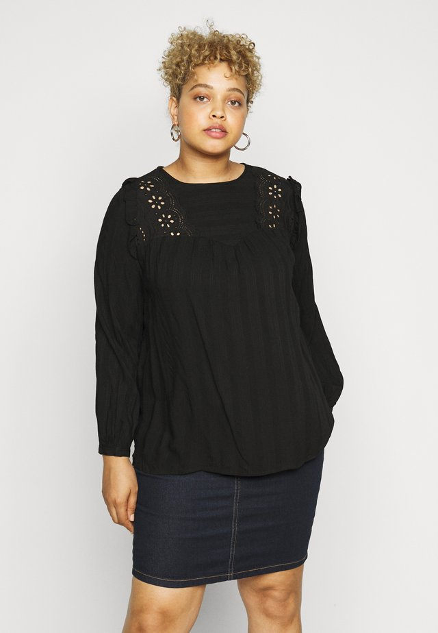CAREMSA BLOUSE - Blůza - black