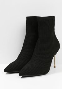 Kurt Geiger London - BARBICAN - High heeled ankle boots - black - 4