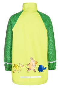 Playshoes - DIE MAUS - Waterproof jacket - green - 2