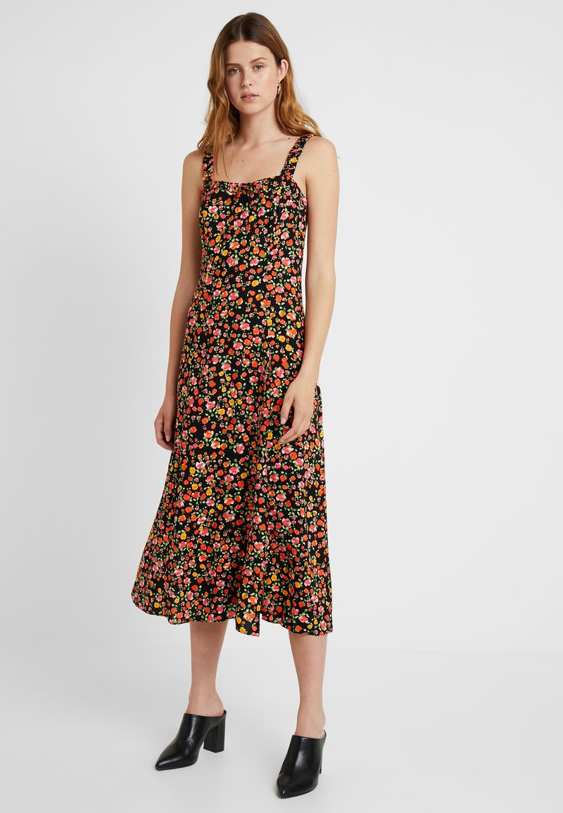 Dorothy Perkins Tall - DITSY CAMI DRESS - Maxi dress - black