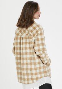 Culture - CUSARIA SHIRT JACKET - Winter jacket - tannin - 3
