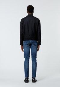 The Kooples - EN LAINE BOUTONNÉ À COL CRANTÉ - Light jacket - black - 2