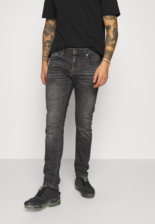 BATES - Jeans slim fit - black