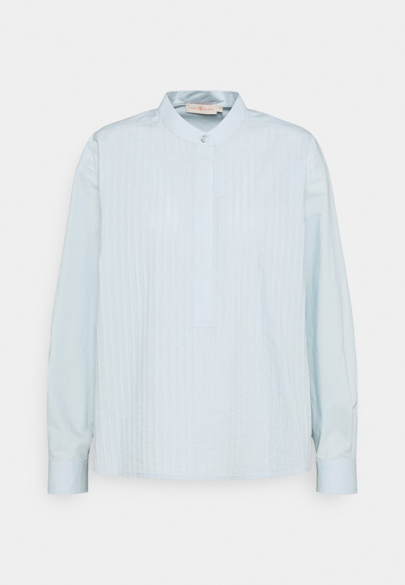 Tory Burch - POPLIN PLEATED - Košile - spring blue