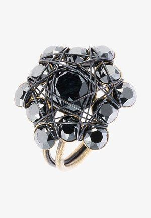 Ring - black antique brass