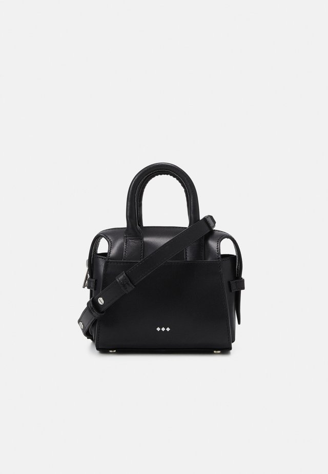 CROWN MINIATURE BAG - Sac bandoulière - black