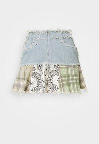 Jaded London - CHECK MIX PEPLUM SKIRT - Minifalda - multi coloured - 4