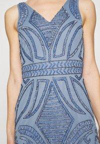 Lace & Beads - FALLYN MAXI - Vestido de fiesta - dusty blue - 4